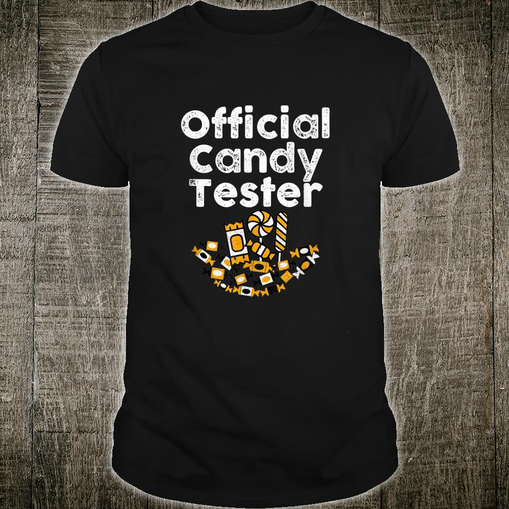Official Candy Tester Trick or Treat HALLOWEEN CANDY Shirt