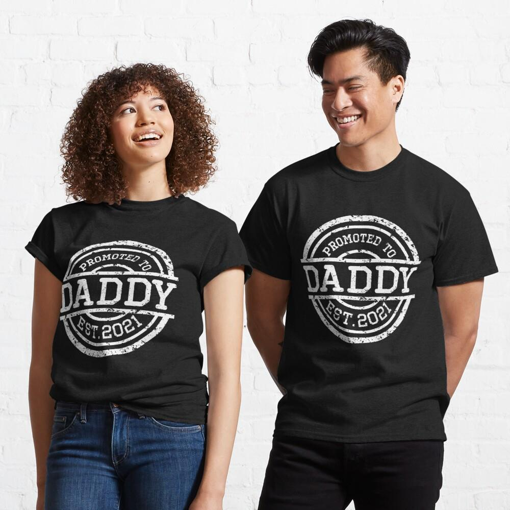 Promoted To Daddy Est. 2021 Father Day Shirt